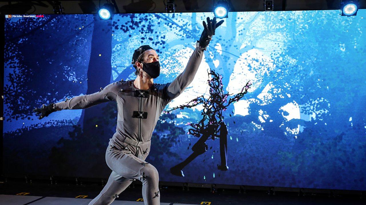 imagem que retrata o espetáculo Dream